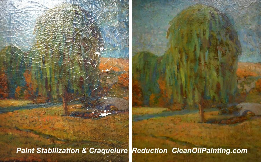 How To Remove Mold From Oil Painting